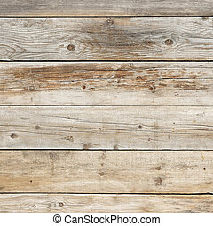 Old faded dull pine natural wood square background texture