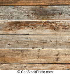 Old faded pine natural wood background texture square