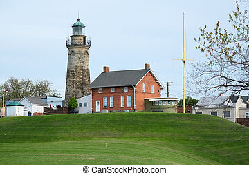 Old Fairport Harbor Lighthouse, built in 1825
