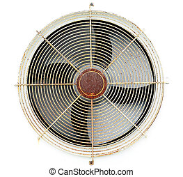 Old fan air compressor