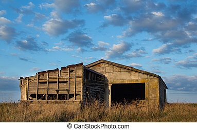 Old Farm Block Shed
