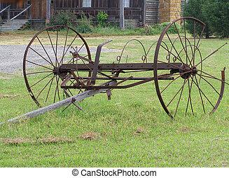 Old Farm Equipment - Antique farm equipment by old farm ...
