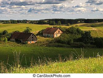 farm - old farm in europe