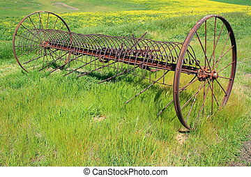 Old Farm Plow