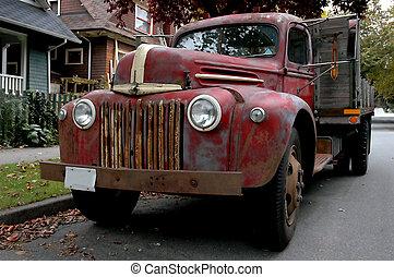 Old Farm Truck