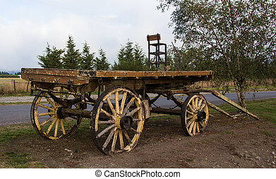 Old Farm Wagon