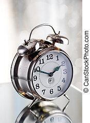 Old fashion alarm clock