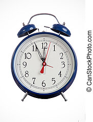 Photo Of An Old Fashion Table Alarm Clock