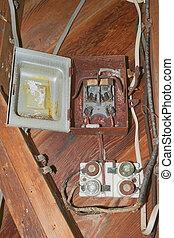Old fashion breaker box - 2