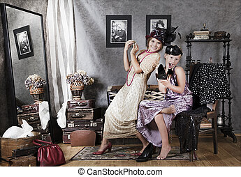 Old-fashion girls