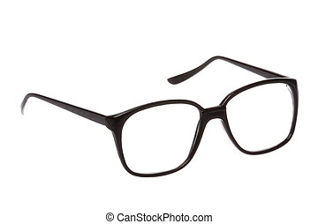Old Fashion Spectacle Isolated - Isolated image of an old...