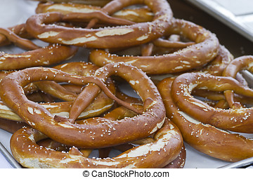 Old Fashioned Bavarian Pretzels