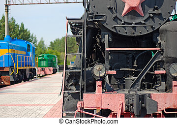 stream locomotive