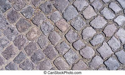 cobble stone - old fashioned cobble stone background