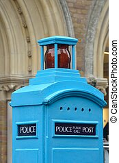 Old fashioned Police box top