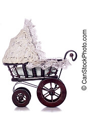 old fashioned pram