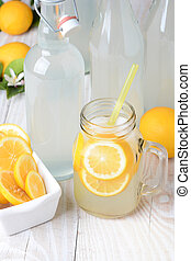 Old Fashioned Sparkling Lemonade