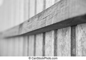old fence as background