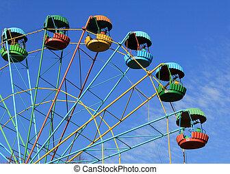 Old Ferris Wheel in Winter Park