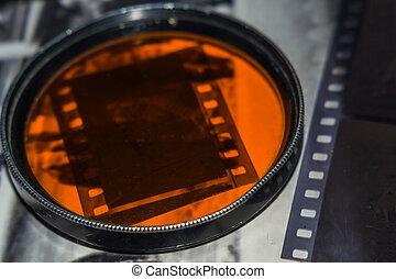 old film negative