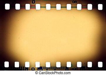 film - old film texture close up