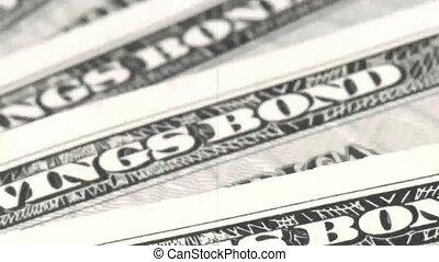 Old film US Treasury Savings Bond - Banking, investing and...