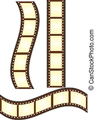 old film vector