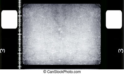 Film damage overlay effect