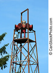 Old fire house siren