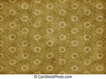 old floral wallpaper background