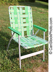 Old Folding Lawnchair