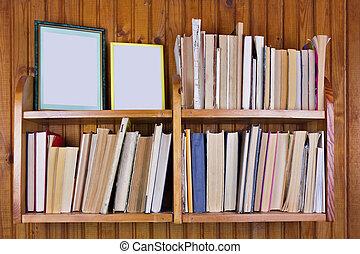 Old forgotten decrepit books