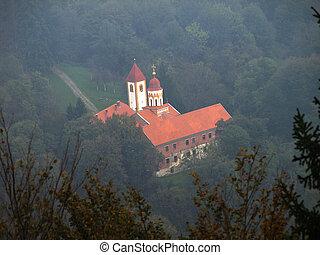 Old forgotten monastery