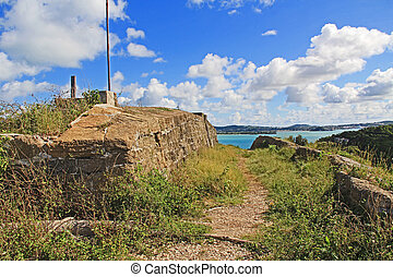 Old Fort Barrington in St. John?s Antigua
