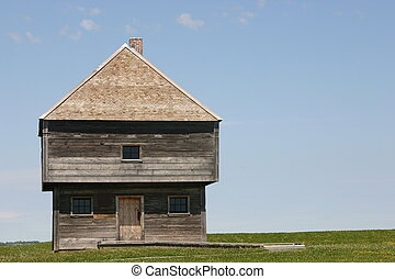 Old Fort Edward - NS, CAN - Built in June 1750, the...