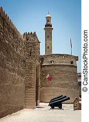 Old fort in Dubai