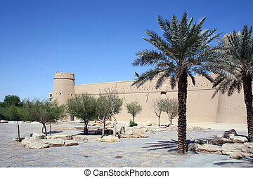 Old fort in Riyadh