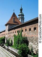 old fortress in Lviv Ukraine