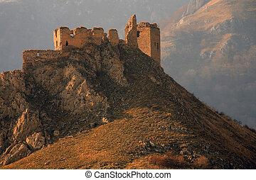 Old fortress of Coltesti, Trascau Mountains, Romania