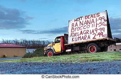 Old Foxton Truck