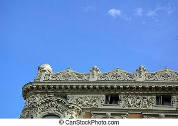 burgess building detail