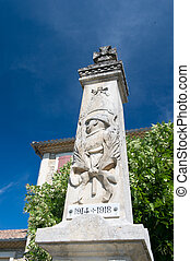 French monument world war two - Old French monument world...