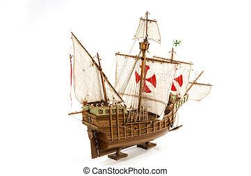 Santa Maria - Old Galleon Santa Maria from Columbus