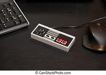 Old gaming console controller