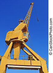 old gantry crane
