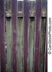 old garden fence post wood weathere - weathered wooden fence...