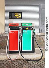 Old Gasoline pump