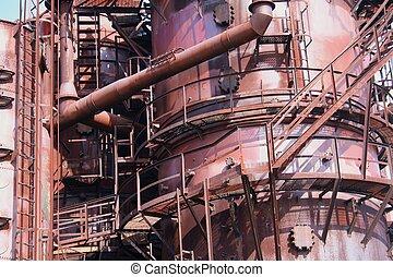 Old Gasworks Detail