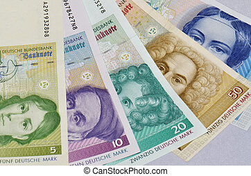 """old german currency """"Mark"""""""