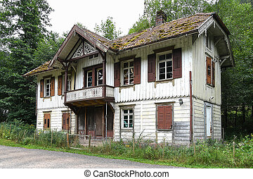 old German house in Black Forest